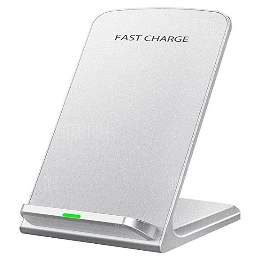 IPhone X Wireless Charger, Fast Wireless Charger Charging Pad(No AC Adapter) for Samsung Galaxy Note 8 S8 S8 Plus S7 S7