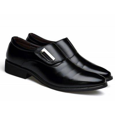 Mens Casual Leather Shoes Business Shoes Suit British Pointed Toe ShoesFormal Shoes<br>Mens Casual Leather Shoes Business Shoes Suit British Pointed Toe Shoes<br><br>Closure Type: Slip-On<br>Feature: Breathable, Anti-slip, Durable, Sweat Absorbing<br>Gender: For Men<br>Insole Material: TPR<br>Lining Material: Synthetic<br>Outsole Material: Rubber<br>Package Contents: 1? Shoes ?Pair)<br>Package Size ( L x W x H ): 20.00 x 20.00 x 10.00 cm / 7.87 x 7.87 x 3.94 inches<br>Season: Spring/Fall, Winter, Summer<br>Type: Casual Shoes<br>Upper Material: PU<br>Weight: 0.8000kg