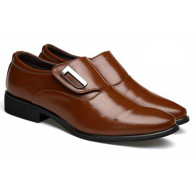 Hommes Casual chaussures en cuir d'affaires chaussures costume British Toe Shoes