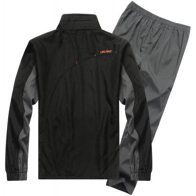 MenS Fashion Casual Wear Outdoor Hiking Running Sports SuitSports Clothing<br>MenS Fashion Casual Wear Outdoor Hiking Running Sports Suit<br><br>Material: Polyester, Acrylic, Spandex<br>Package Contents: 1?Coat?1?Pant<br>Pattern Type: Others<br>Weight: 0.5000kg