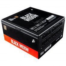 1STPLAYER BLACK WIDOW 500W Active PFC High Performance ATX Power Supply 80 Plus Bronze Certified Full Modular