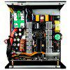 1STPLAYER BLACK WIDOW 500W Active PFC High Performance ATX Power Supply 80 Plus Bronze Certified Full Modular - BLACK AND RED
