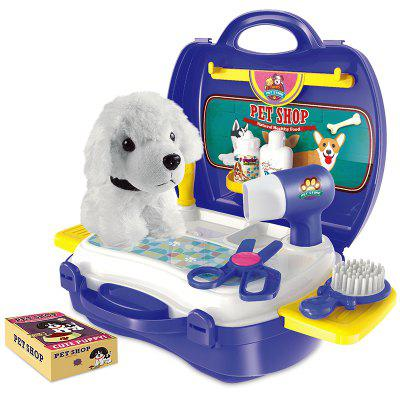 Role-Playing House Simulation Pet Suitcase Toy