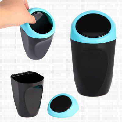Car Auto Garbage Trash Can Automotive Waste Storage Mini