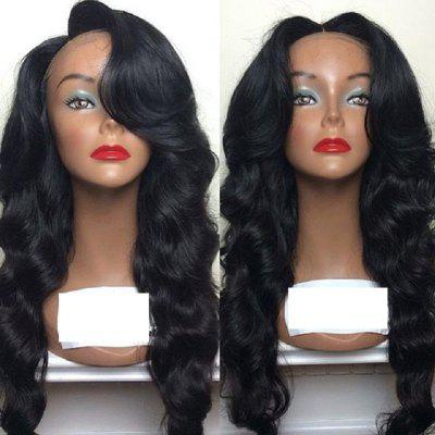 Brazilian Virgin Hair Wig Body Wave Lace Front Wigs Middle Part Natural Hairline Glueless Lace Front Wig for Black Women