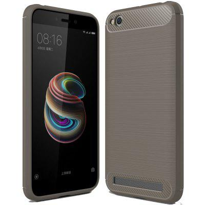 Carbon Fiber TPU Soft Cover for Xiaomi Redmi 5A