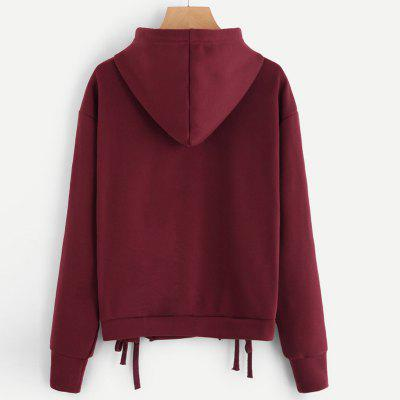 Long Sleeve Pure Color  HoodieSweatshirts &amp; Hoodies<br>Long Sleeve Pure Color  Hoodie<br><br>Closure Type: None<br>Collar: Hooded<br>Detachable Part: None<br>Elasticity: Micro-elastic<br>Fabric Type: Worsted<br>Hooded: Yes<br>Material: Cotton<br>Package Contents: 1 x Hoodie<br>Pattern Style: Solid<br>Shirt Length: Regular<br>Sleeve Length: Full<br>Sleeve Style: Regular<br>Style: Casual<br>Thickness: Standard<br>Weight: 0.3600kg
