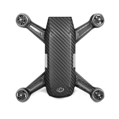 Waterproof PVC Stickers Aircraft Remote Controller Battery Skin for DJI SPARK Black