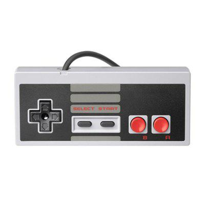 Retro Style Wired Gamepad with 7 Pin Controller Connector for Nintendo System