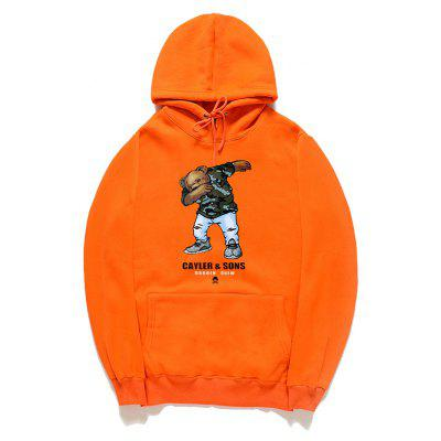 Sudadera con capucha Men Bear Prints