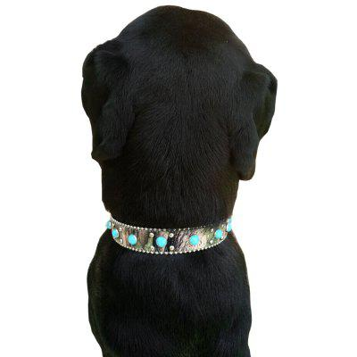 Lovoyager Jara001 The Pet Decorates The Western Cowboy Style Collar