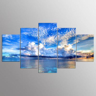 YSDAFEN 5 Panels HD Canvas Print Wall Art Picture For Living Room