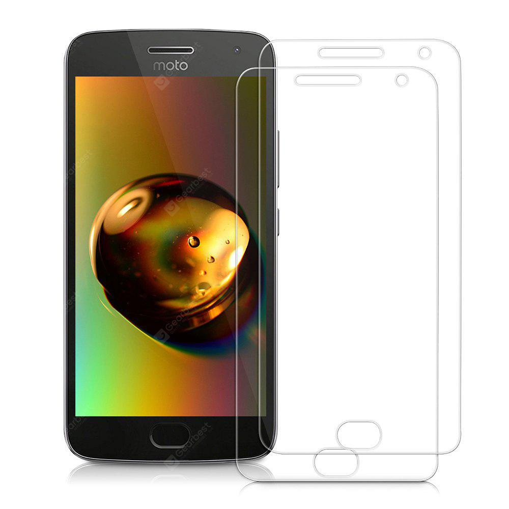 2pcs 2.5D 0.26mm 9H Hardness Tempered Glass Screen Protector for Motorola MOTO G5 Plus