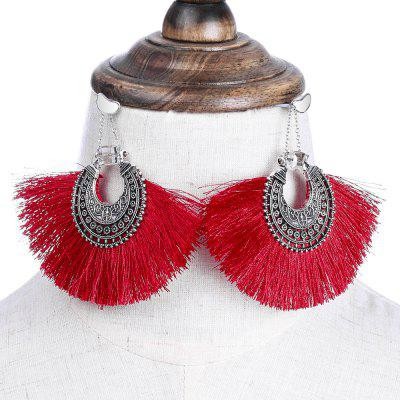 New Product Multi - Tier Tassel Pierced EarringsEarrings<br>New Product Multi - Tier Tassel Pierced Earrings<br><br>Earring Type: Drop Earrings<br>Gender: For Women<br>Metal Type: Alloy<br>Package Contents: 1 x Pair of Earrings<br>Package weight: 0.0200 kg<br>Size (CM): 8.2 x 9CM<br>Style: Bohemia