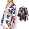 NEW Fashion Women Casual BOHO Hippie Floral Baggy Jacket Kimono Coat Print Cape Cardigan Outwears Oversize - FLORAL