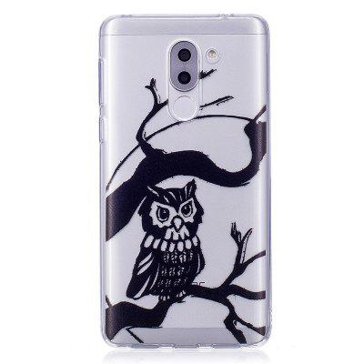 Owl Pattern Soft TPU Clear Case per Huawei Honor 6X