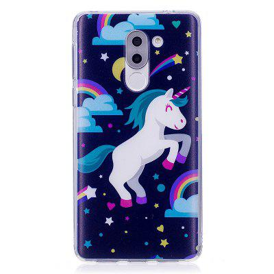 Pegasus Pattern Soft TPU Clear Case for Huawei Honor 6X