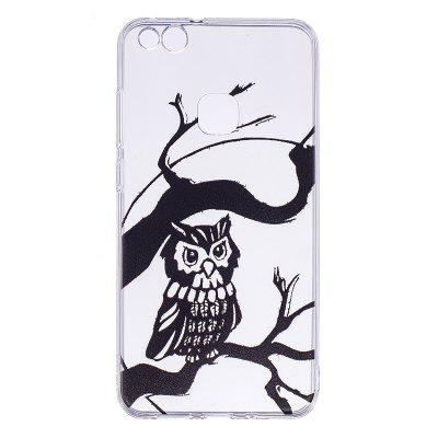 Owl Pattern Soft TPU Clear Case for Huawei P10 Lite