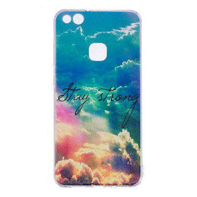 Heaven Pineapple Pattern Soft TPU Clear Case for Huawei P10 Lite