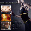 Waist Trimmer AB Belt Workout Sweat Enhancer Exercise Adjustable Wrap for Men & Women, Provide Stomach, Low Back and Lumbar Support - COMME PHOTO