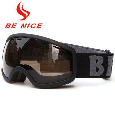 Anti-fog Big Spherical Professional Ski Glasses Multi Color Snow Goggles Child Skiing Eyewear Glasses Snow-4000