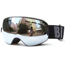 Double Lens Anti-fog Big Spherical Professional Ski Glasses Multi Color Snow Goggles Skiing Eyewear Glasses Snow-4000