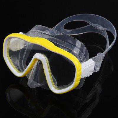 High Quality Diving Equipment Swimming Diving Mask Goggles Toughened Tempered Glass Professional 6 Color Glass
