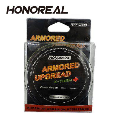 цена на HONOREAL 0.128mm 150m Super Strong Abrasion Resistant Long Grey Color 4 Strands PE Braided Fishing Line