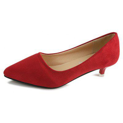 NJ-662 Pointed To The Low Light Suede Shoes Foot SleeveWomens Pumps<br>NJ-662 Pointed To The Low Light Suede Shoes Foot Sleeve<br><br>Heel Type: Low Heel<br>Occasion: Office &amp; Career<br>Package Contents: 1xShoes pair<br>Pumps Type: Basic<br>Season: Summer, Spring/Fall<br>Toe Shape: Pointed Toe<br>Toe Style: Closed Toe<br>Upper Material: Flock<br>Weight: 0.8320kg