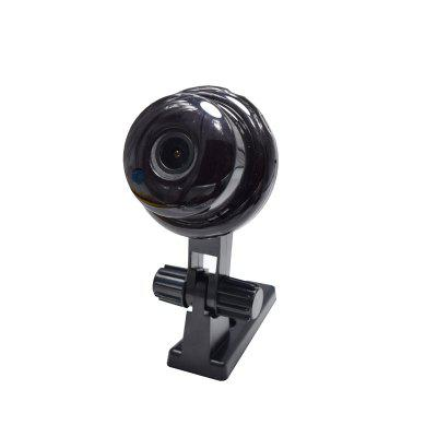 720P Panoramic Wide-Angle Baby MINI IP Camera Wifi Two-Way Voice Slot Night Vision Home Security 1.8MM Lens 180 Degrees