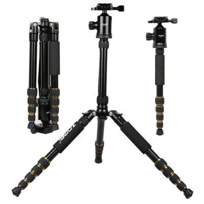 Zomei Z699 Professional 60inch Compact Advanced Magnesium Aluminum Alloy Travel Camera Tripod Monopod With 360 Ball Head