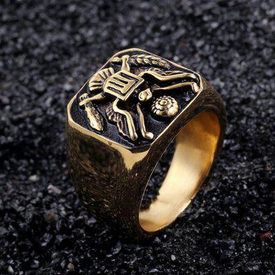 Stainless Steel Ring Military Badge Eagle Mens JewelryMens Jewelry<br>Stainless Steel Ring Military Badge Eagle Mens Jewelry<br><br>Gender: For Men<br>Package Content: 1 x Ring<br>Package weight: 0.0100 kg<br>Style: Vintage