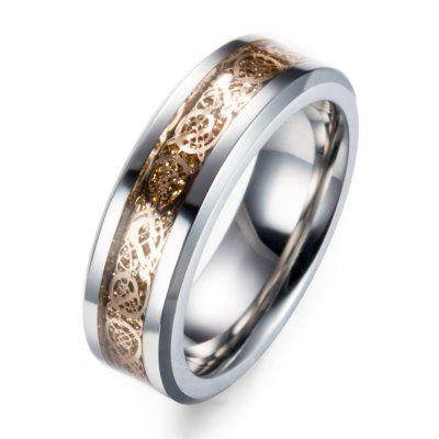 Stainless Steel Mens Longitudinal Note Wrapped Titanium RingMens Jewelry<br>Stainless Steel Mens Longitudinal Note Wrapped Titanium Ring<br><br>Gender: For Men<br>Package Content: 1 x Ring<br>Package weight: 0.1930 kg<br>Style: Office/Career
