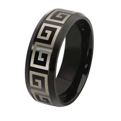 The Great Wall Ring Men Simple Fashion Jewelry