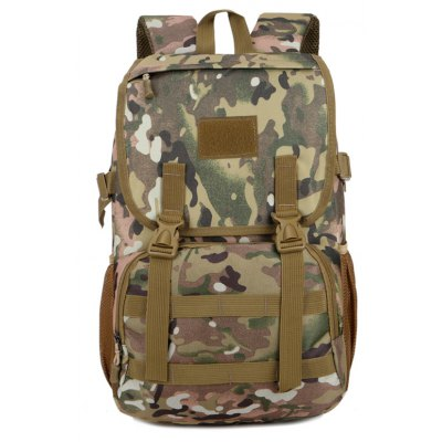 FLAMEHORSE Camouflage Tactical Package 35L Outdoor Mountaineering Travel Backpack