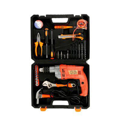 Household Maintenance Suit for Practical Impact DrillHome Gadgets<br>Household Maintenance Suit for Practical Impact Drill<br><br>Available Color: Colormix<br>Materials: Metal<br>Package Contents: 1 x Maintenance Suite<br>Package Size(L x W x H): 43.00 x 33.00 x 12.00 cm / 16.93 x 12.99 x 4.72 inches<br>Package weight: 6.0000 kg<br>Product Size(L x W x H): 41.00 x 32.00 x 10.00 cm / 16.14 x 12.6 x 3.94 inches<br>Product weight: 5.5000 kg