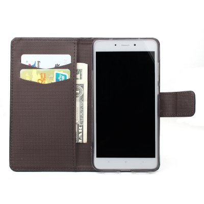 Phone Case for Xiaomi Redmi Note 4X Phone Wallet Leather Case Mobile Phone Holster mercury goospery milano diary wallet leather mobile case for iphone 7 plus 5 5 grey