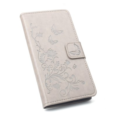 Buy Phone Case for Xiaomi Redmi Note 4X Phone Wallet Leather Case Mobile Phone Holster GRAY for $4.50 in GearBest store