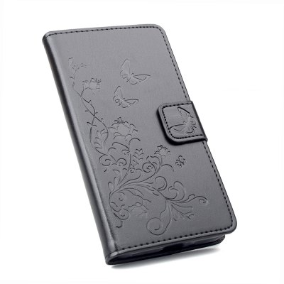 Buy Wallet Case for Xiaomi Redmi Note 4 Wallet PU Leather Case Mobile Phone Cover BLACK for $4.50 in GearBest store