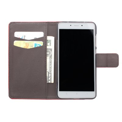 Wallet Case for Xiaomi Redmi Note 4 Wallet PU Leather Case Mobile Phone Cover nillkin new leather case sparkle leather case for xiaomi note