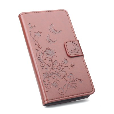 Buy Wallet Case for Xiaomi Redmi Note 4 Wallet PU Leather Case Mobile Phone Cover BROWN for $4.50 in GearBest store