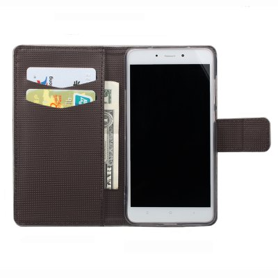 Flip Case for Xiaomi Redmi Note 4 Wallet PU Leather Phone Bag Case nillkin new leather case sparkle leather case for xiaomi note