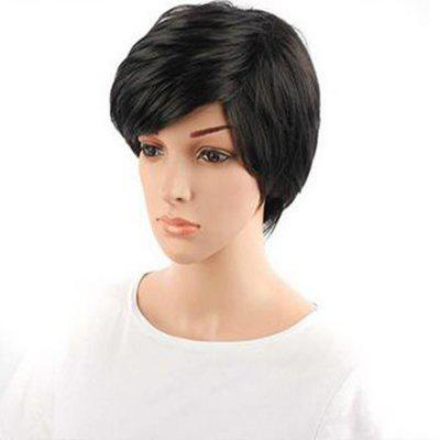 Synthetic Lace Front Short Straight Hair Bob Wig Adjustable For African Women High Temperature Fiber lace front synthetic wigs with short bob straight dark root to pink ombre hair wig synthetic lace front wigs for women