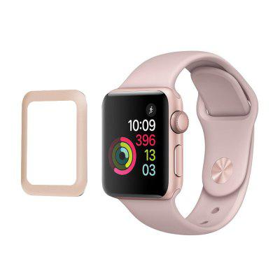 38MM Metal Fully Covering Toughened Glass Film for Apple Watch Series 3 High Quality Glass Protective Film