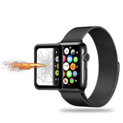 42MM Metal Fully Covering Toughened Glass Film for Apple Watch Series 3 High Quality Glass Protective Film