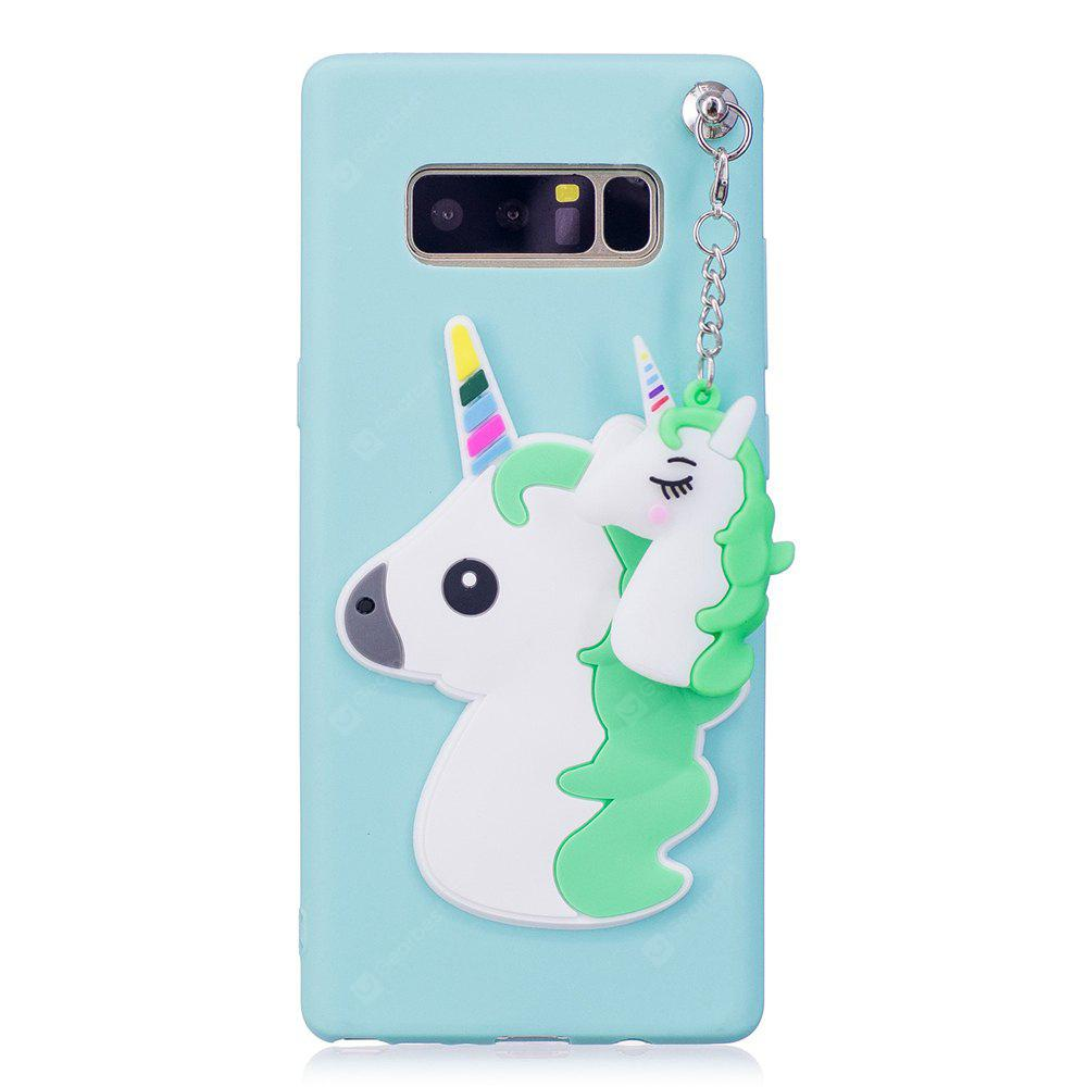 3D Cute Candy Pendant Pattern Silicone Soft Tpu Back Case para Samsung Galaxy Note 8