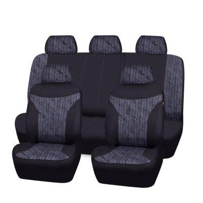 Car Pass Tire Pattern Universal Seat Cover