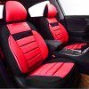 Car-pass Mesh Fabric  Universal Car Seat Cover - RED
