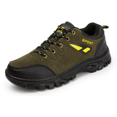 MenS Shoes Sports Casual Shoes Outdoor Mountaineering Shoes Antiskid and Wear-Proof Travel Shoes Male Middle-AgedAthletic Shoes<br>MenS Shoes Sports Casual Shoes Outdoor Mountaineering Shoes Antiskid and Wear-Proof Travel Shoes Male Middle-Aged<br><br>Closure Type: Lace-Up<br>Gender: For Men<br>Outsole Material: PU<br>Package Contents: 1 xShoes(pair)<br>Package Size ( L x W x H ): 28.00 x 18.00 x 10.00 cm / 11.02 x 7.09 x 3.94 inches<br>Type: Hiking Shoes<br>Upper Material: Mesh<br>Weight: 1.0080kg