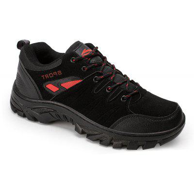 Men'S Shoes Sports Casual Shoes Outdoor Mountaineering Shoes Antiskid and Wear-Proof Travel Shoes Male Middle-Aged